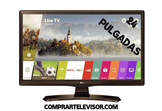 comprar televisor 24 pulgadas Smart TV