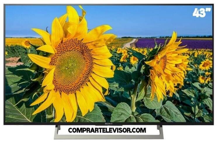 Comprar televisor 43 pulgadas colores vivos