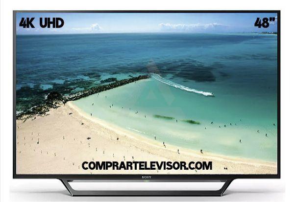 comprar televisor 48 pulgadas 4K UHD