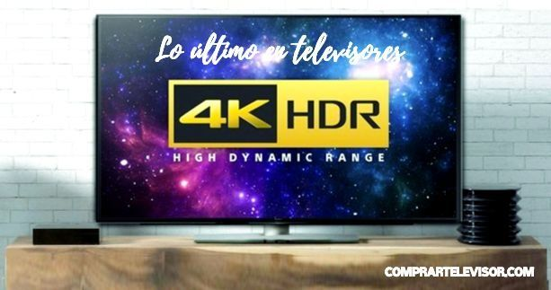 Comprar televisor 4k HDR