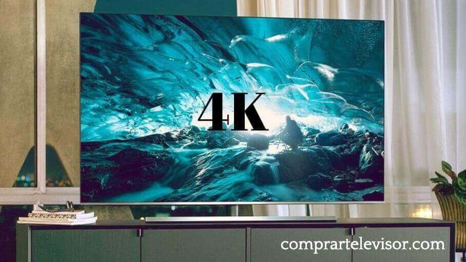 Comprar televisor 4K última generación