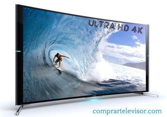 Comprar televisor 4k diseño curvo