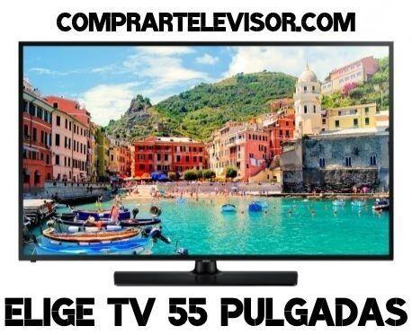 Comprar televisor 55 pulgadas Smart TV