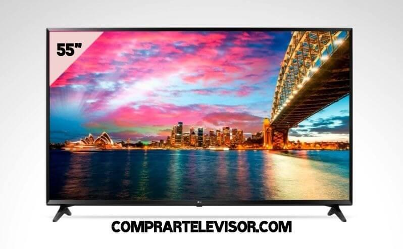 Comprar televisor 55 pulgadas resolución de imagen