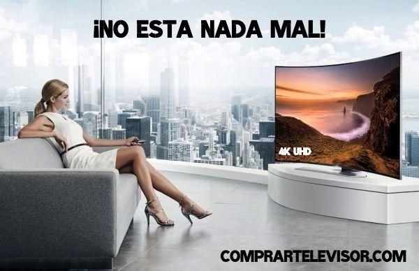 Comprar televisor 65 pulgadas pantalla curva