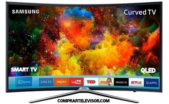 Comprar televisor curvo sistema QLED