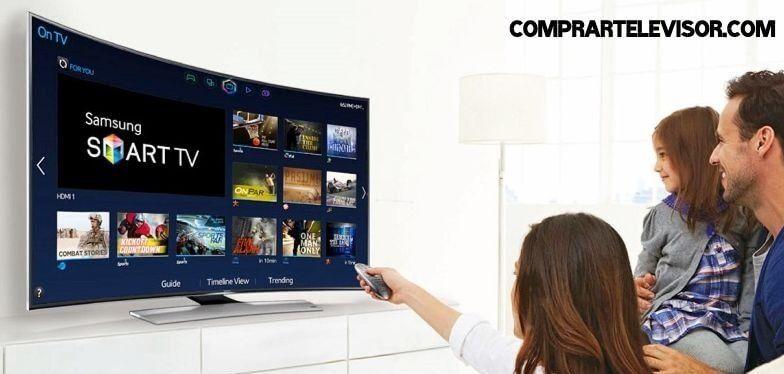 comprar televisor curvo Smart TV