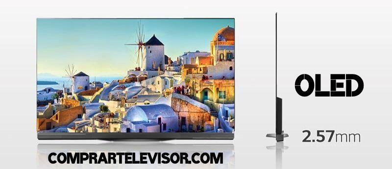 Comprar televisor OLED pantalla plana