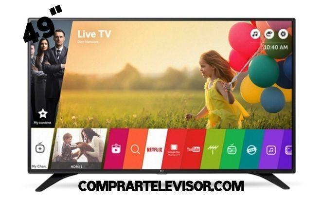 Que televisor de 49 pulgadas comprar al mejor precio