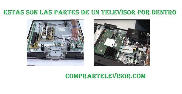 Estas son las partes de un televisor por dentro