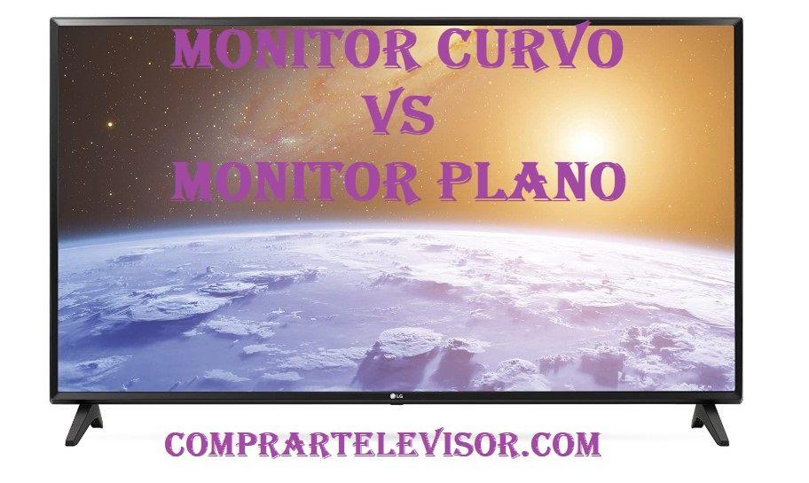 Monitor curvo vs plano favorito