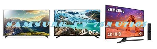 Competidores del Samsung TV 75NU7105