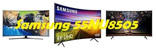 competidores Samsung 55NU8505