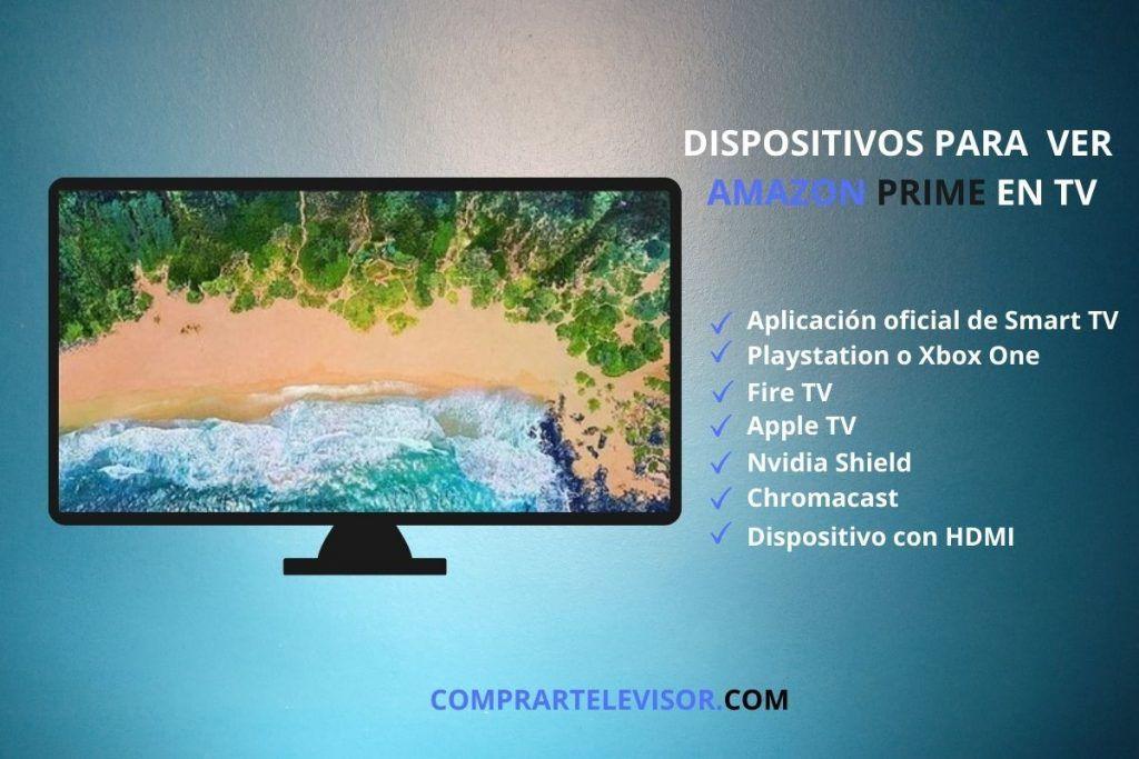 Amazon Prime Video en TV