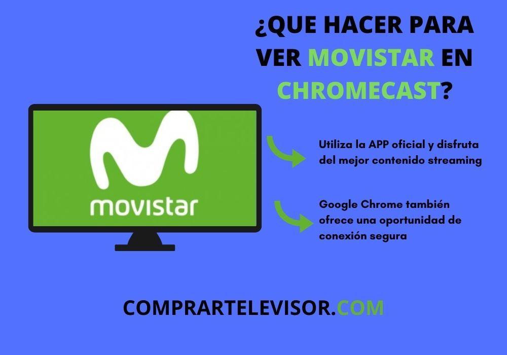 movistar plus chromecast