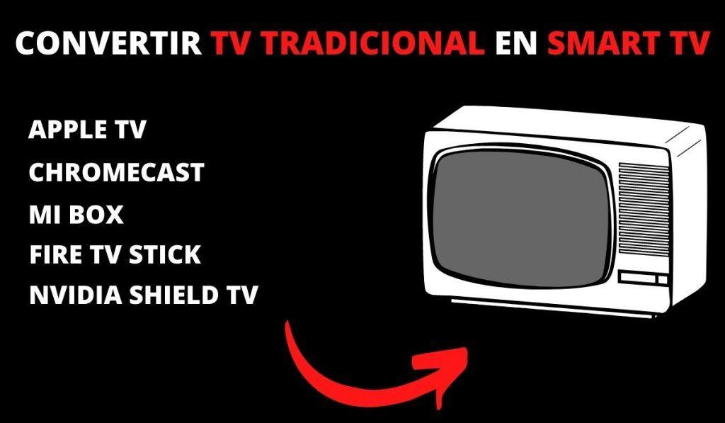 Convertir TV tradicional en Smart TV