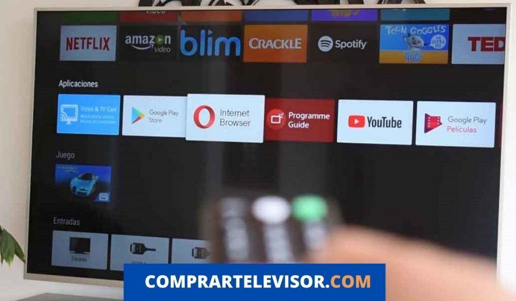 Google Chrome con Android TV