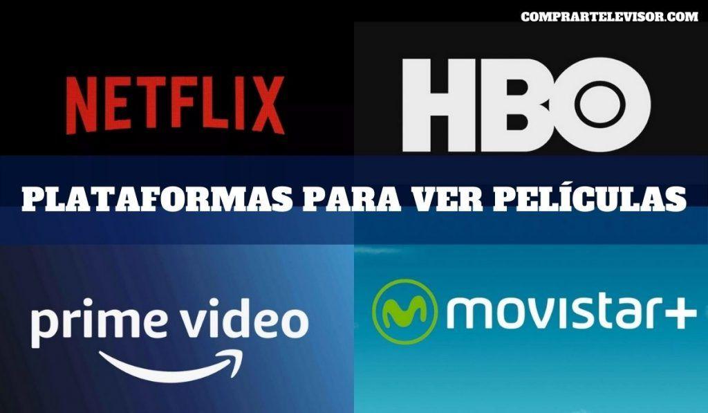 Plataformas para ver películas