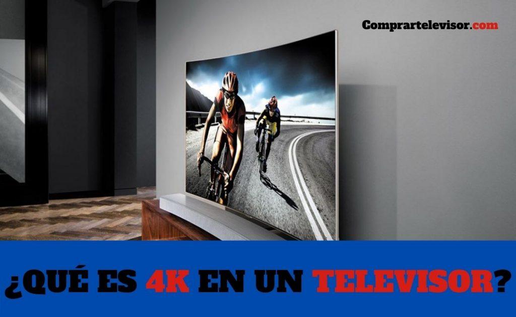 ¿Qué es 4K en un televisor?